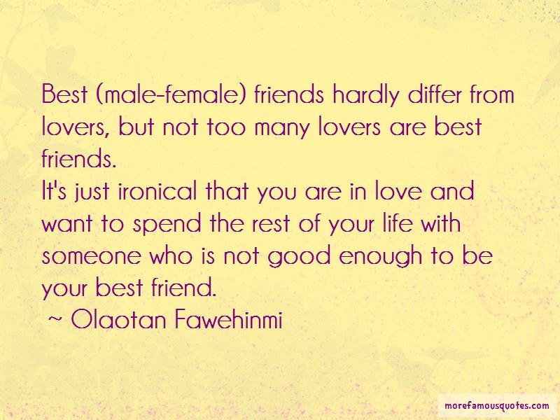 Lovers Who Are Best Friends Quotes Pictures 4