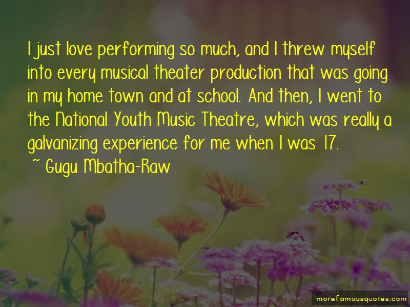 Musical theatre quotes. Great Quotes From Musicals (Message ...