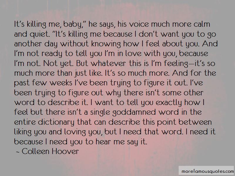 Not Knowing How U Feel Quotes Pictures 4