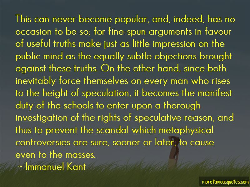 Quotes About Objections