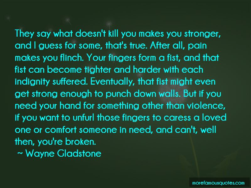 Quotes About Pain That Makes You Stronger