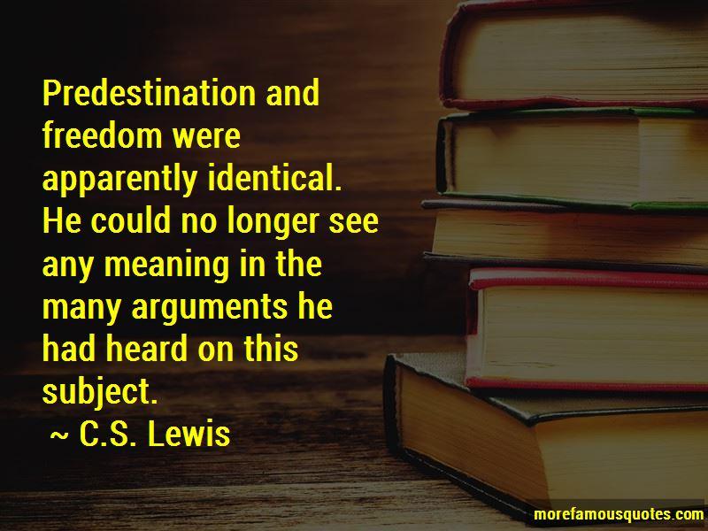 Predestination Quotes Pictures 3