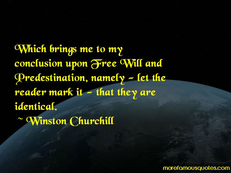 Predestination Quotes Pictures 4