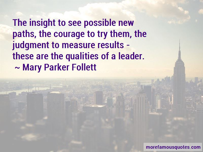 Quotes About Qualities Of A Leader