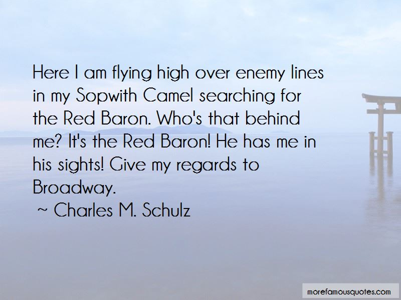 Quotes About Red Baron