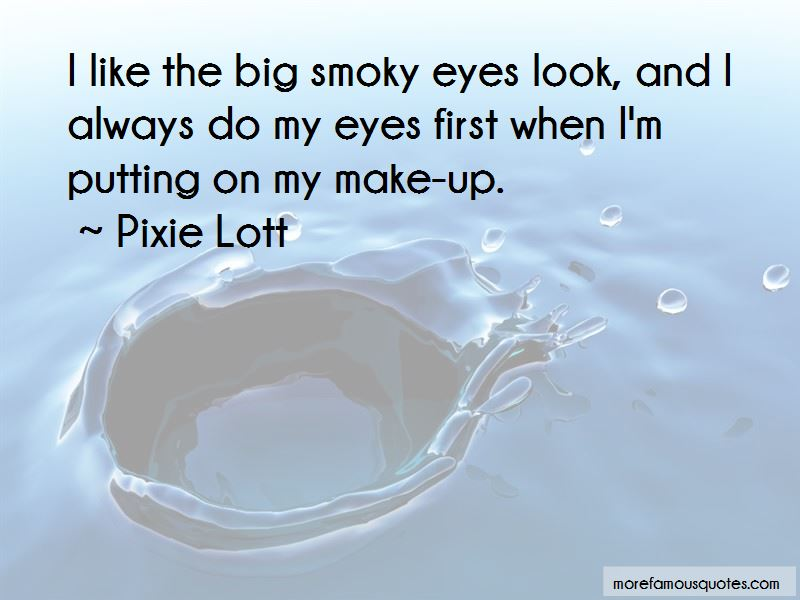 Smoky Eyes Quotes Pictures 3