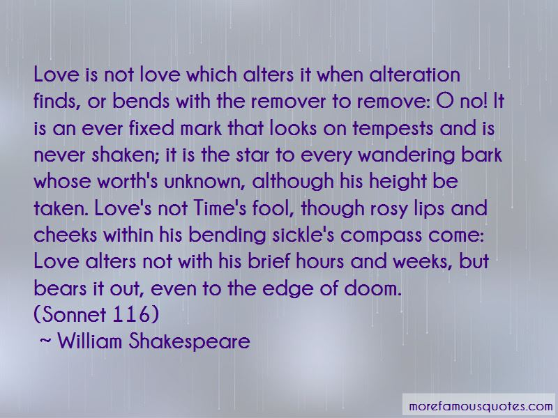 Quotes About Sonnet 116