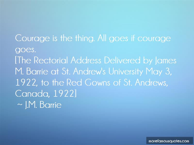 Quotes About St Andrews University