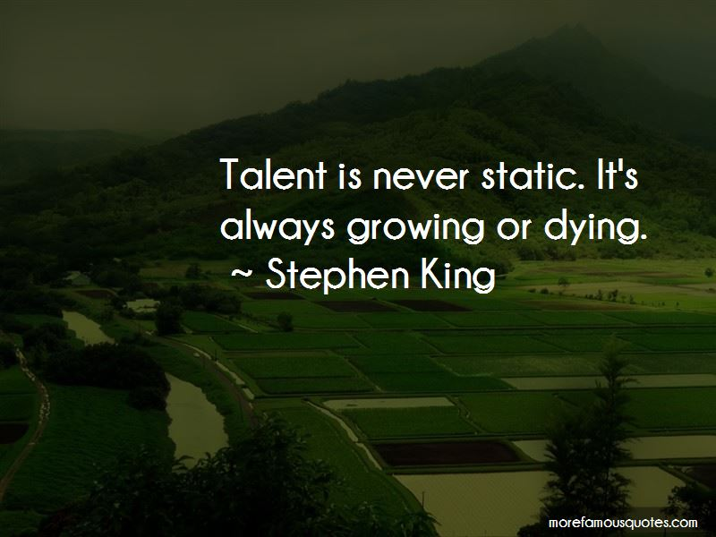 Quotes About Static