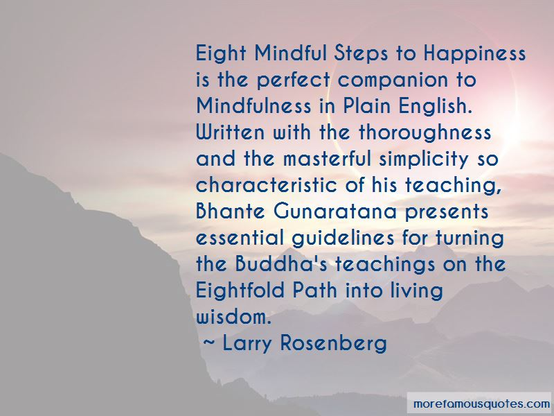 Quotes About The Eightfold Path