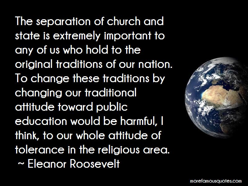 Quotes About The Separation Of Church And State