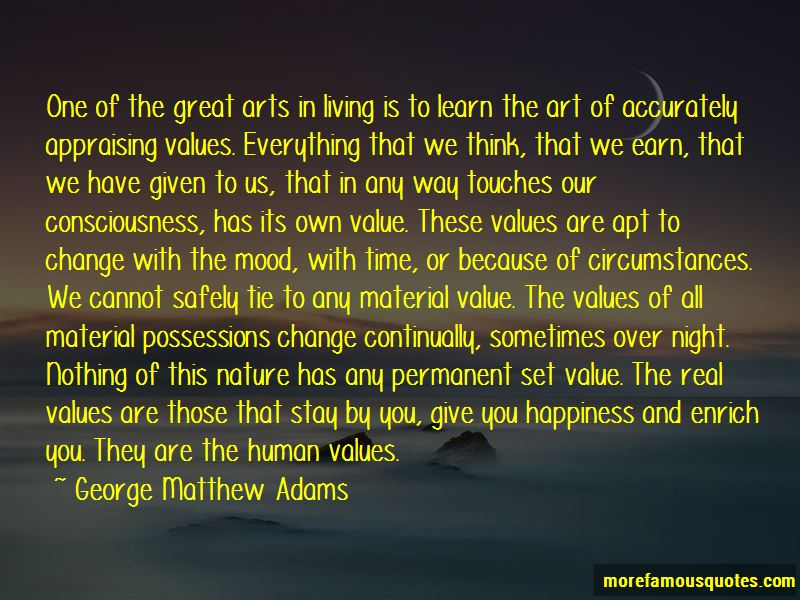 Value Of The Arts Quotes Pictures 3