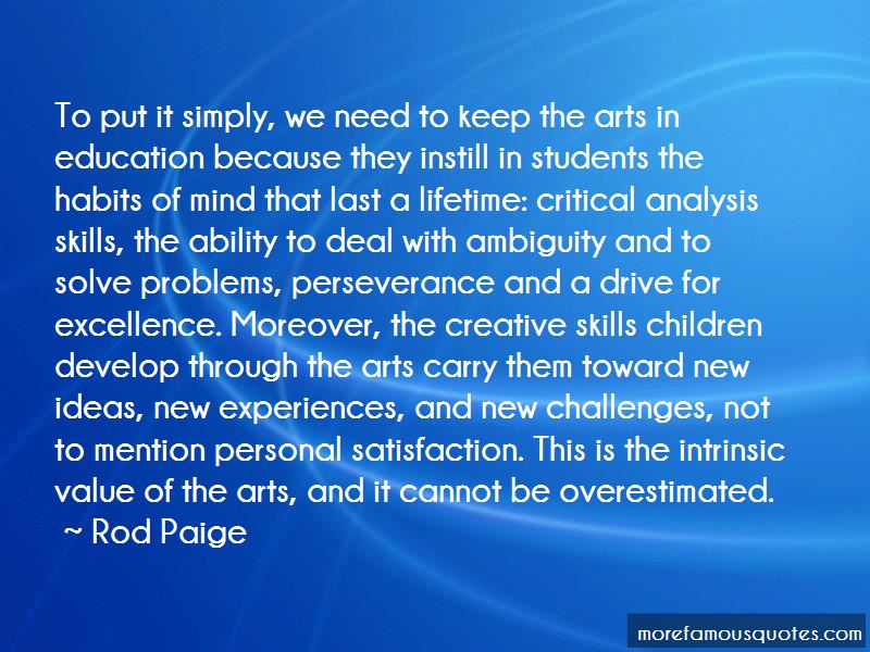 Quotes About Value Of The Arts