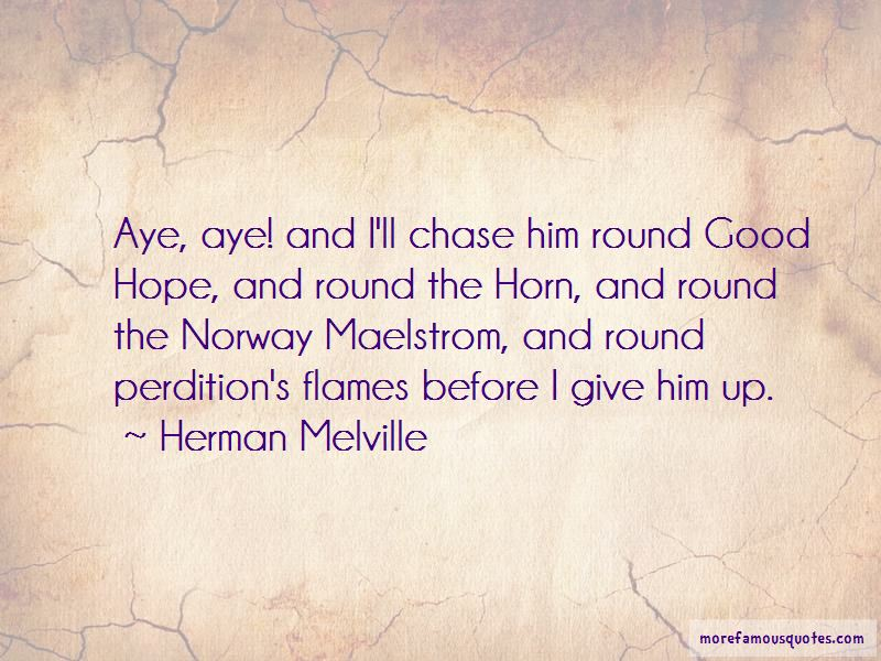 Round The Horn Quotes