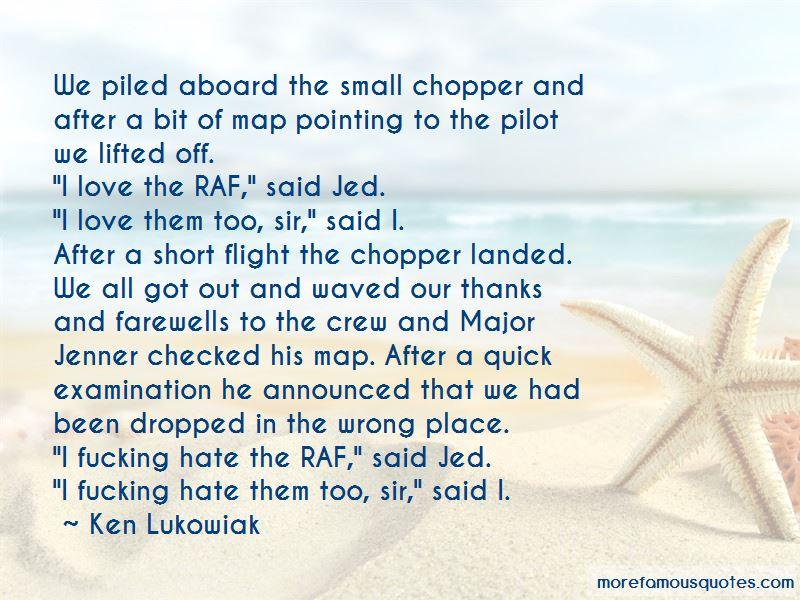 Short Flight Quotes