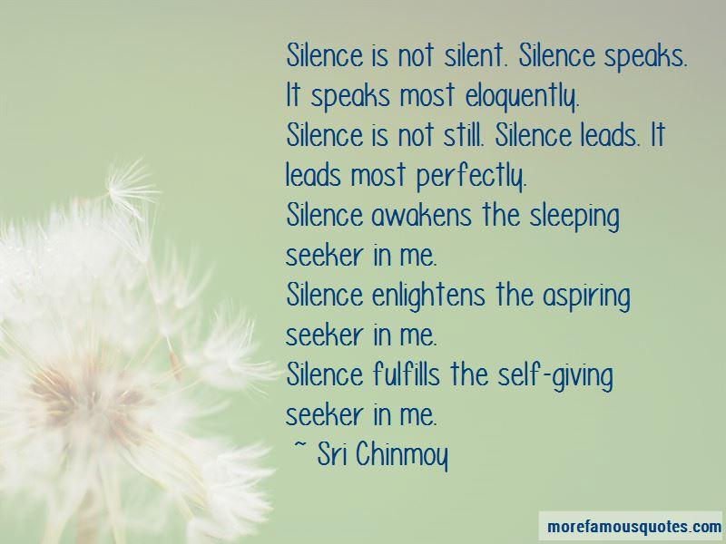 Silence Speaks A Lot Quotes Pictures 3