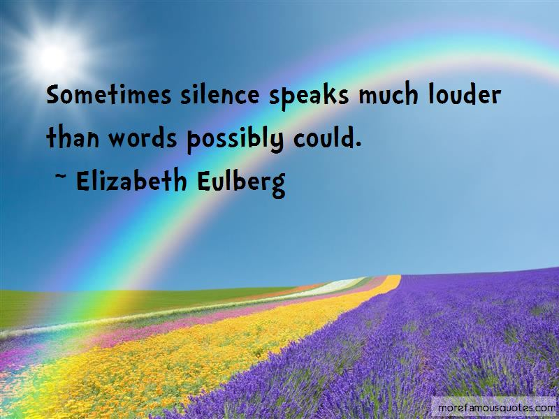 Silence Speaks A Lot Quotes Pictures 4
