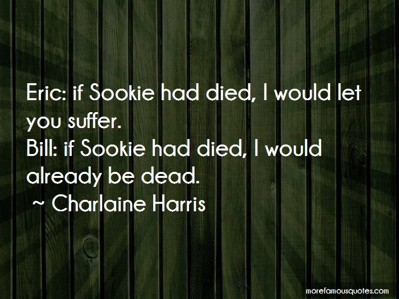 Sookie And Bill Quotes