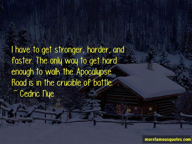 The Road Apocalypse Quotes