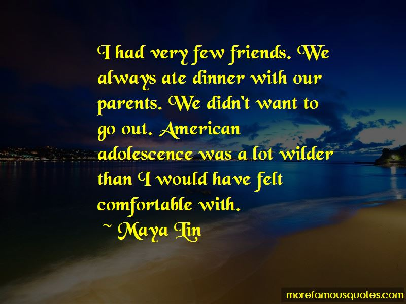 Very Few Friends Quotes