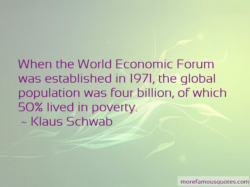 World Economic Forum Quotes