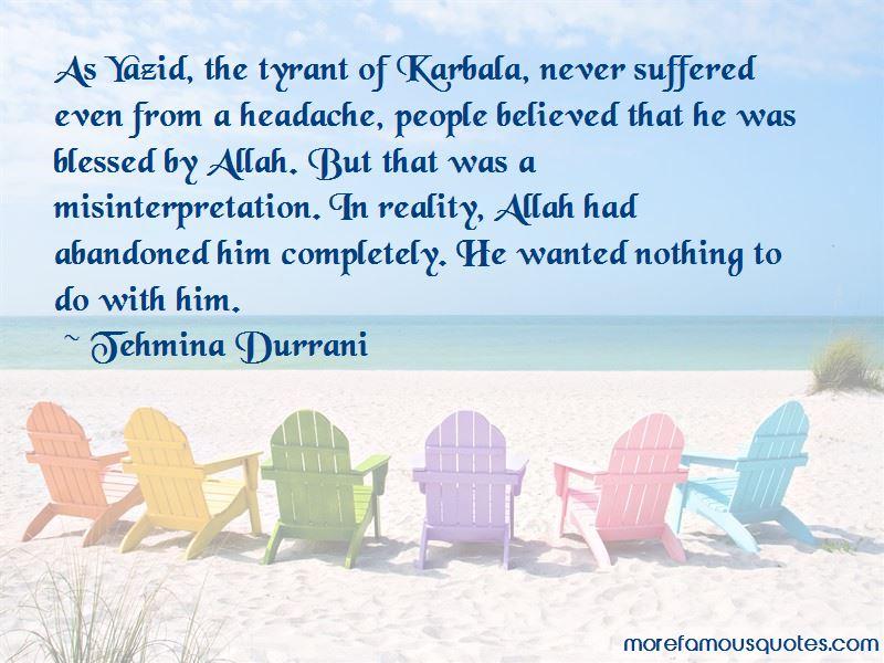 Yazid Quotes