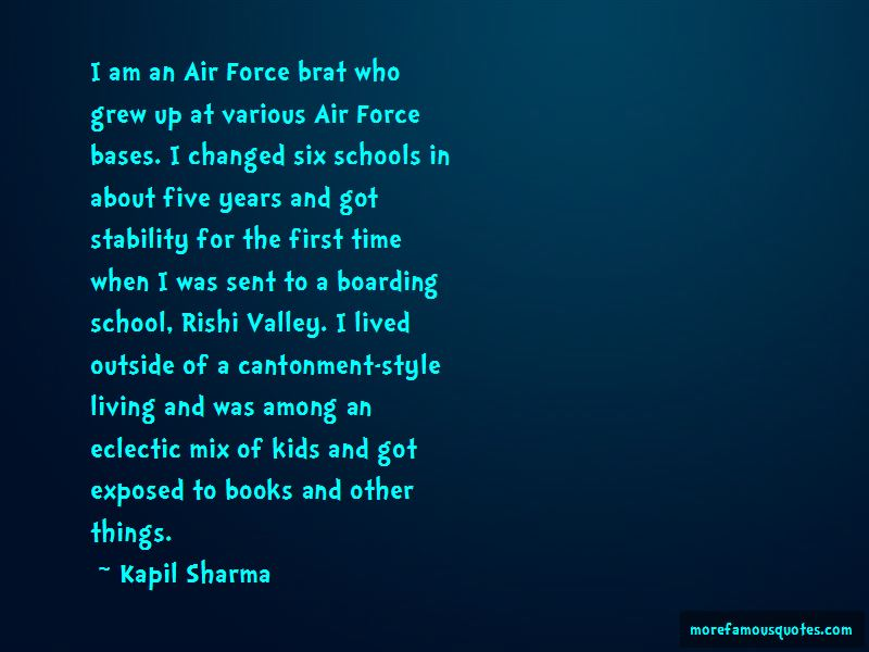 Air Force Brat Quotes: Top 3 Quotes About Air Force Brat