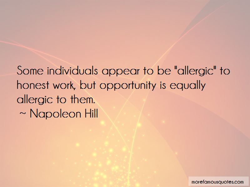 Allergic To Work Quotes