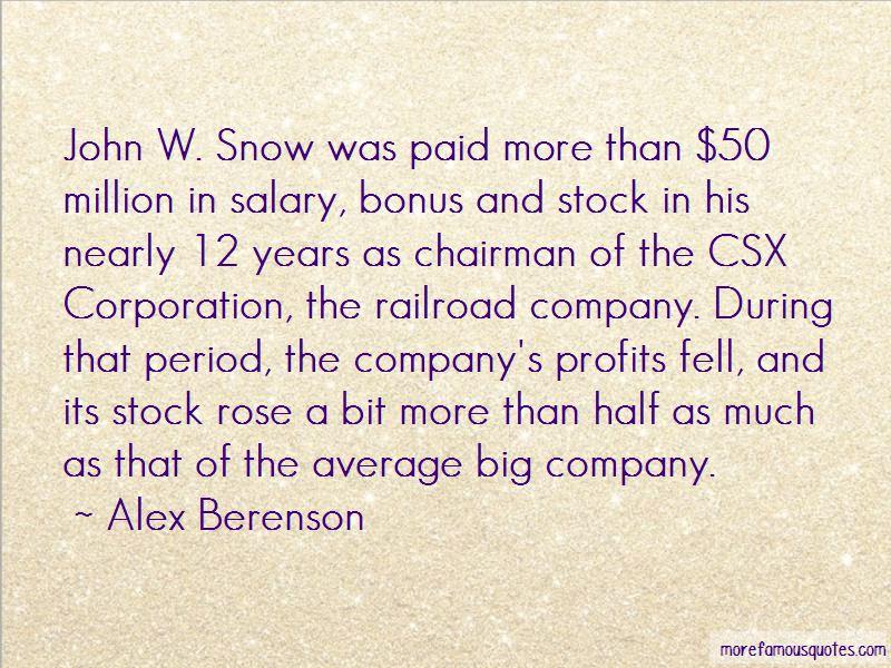 Csx Stock Quotes