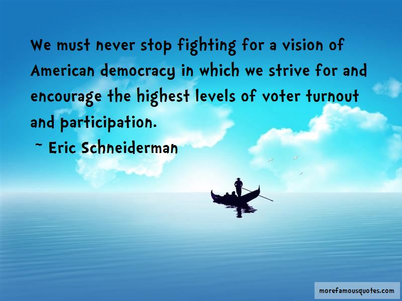 Democracy Turnout Quotes