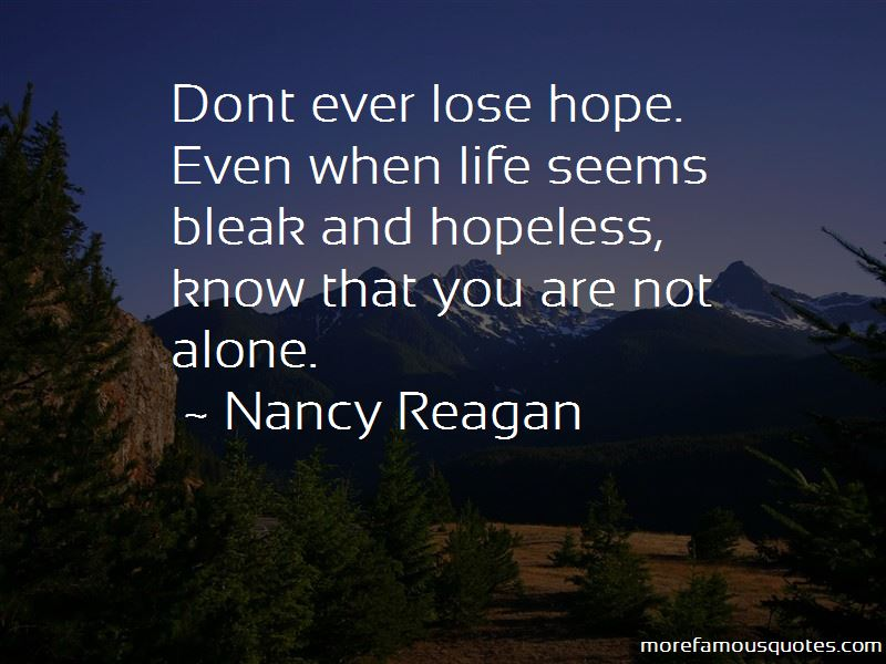 Don Lose Hope Quotes