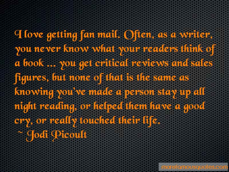 Fan Mail Quotes