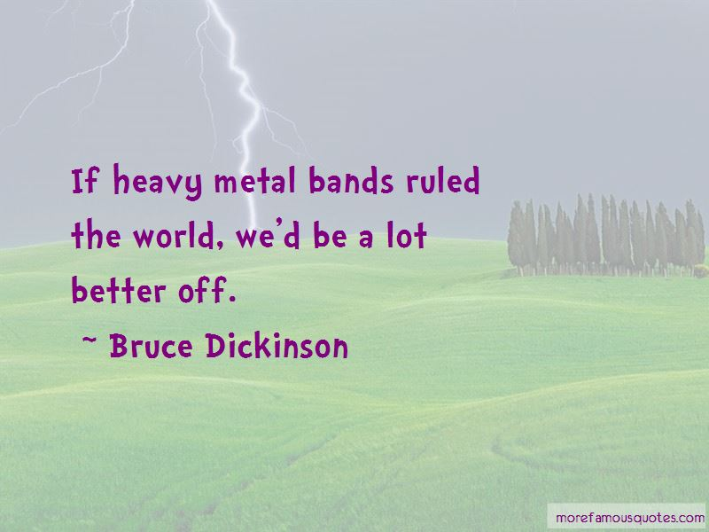 Heavy Metal Bands Quotes Pictures 3