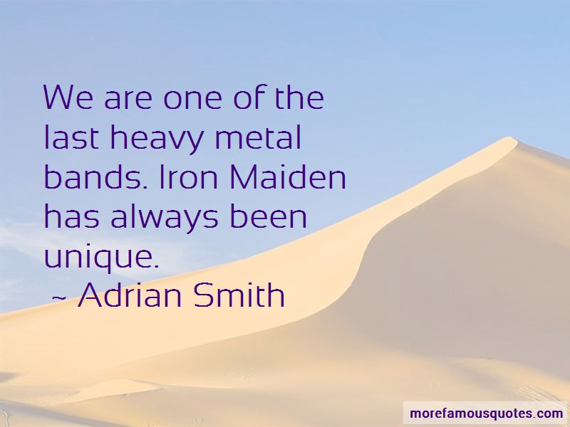 Heavy Metal Bands Quotes