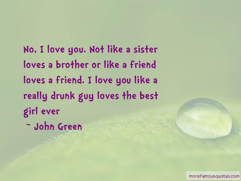 I Love You Like A Sister Best Friend Quotes