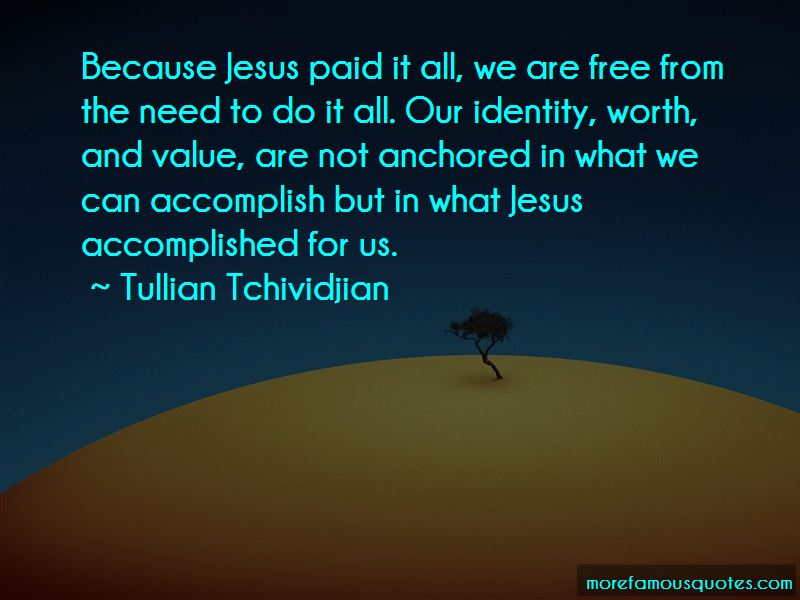Jesus Paid It All Quotes Pictures 2