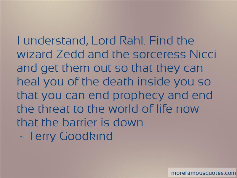 Lord Rahl Quotes