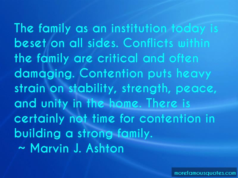 Quotes About Building A Strong Family: top 2 Building A ...