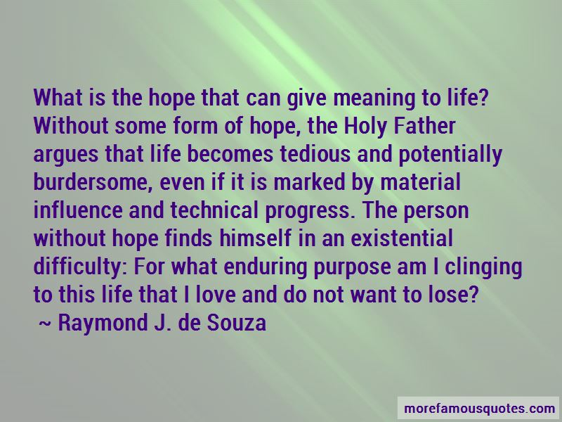 Clinging To Hope Quotes Pictures 3