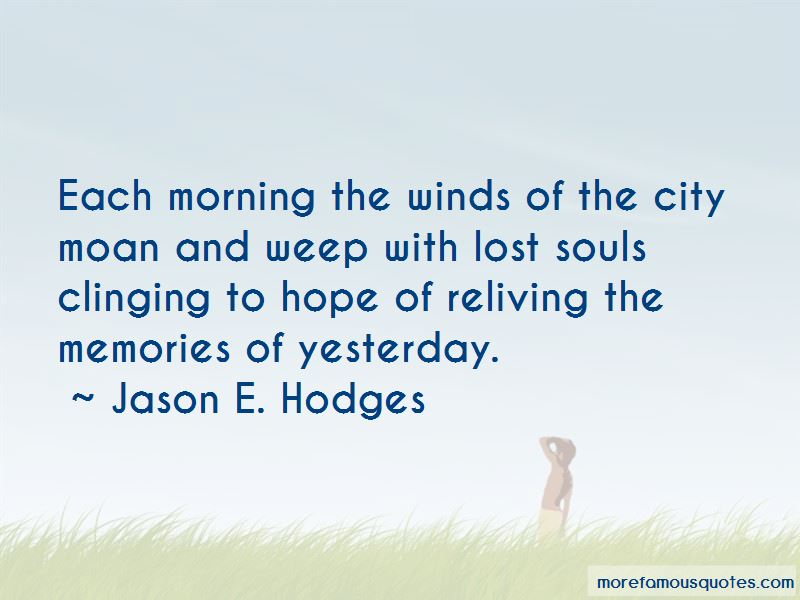 Quotes About Clinging To Hope