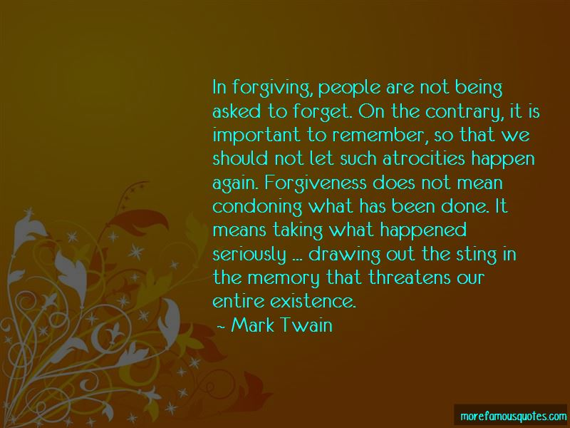Quotes About Condoning