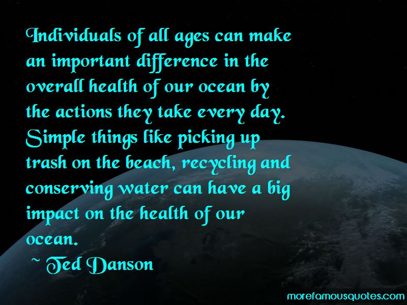 Quotes About Conserving The Ocean
