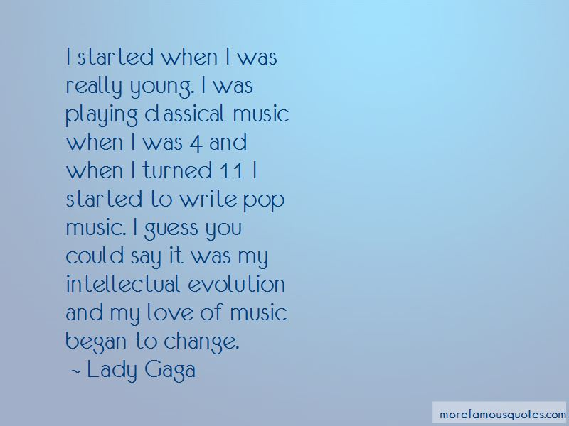 Evolution Of Music Quotes Pictures 2