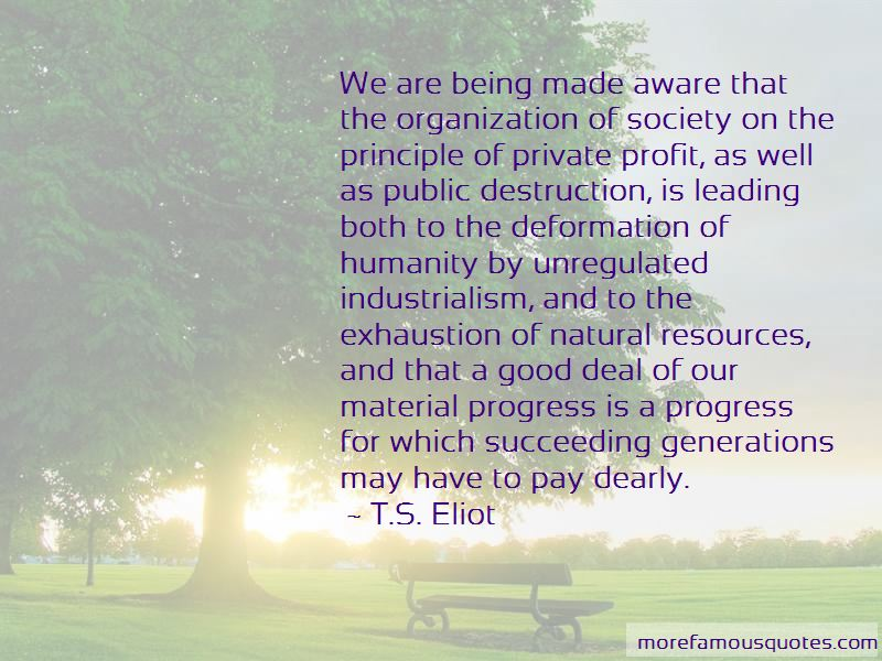 Quotes About Industrialism