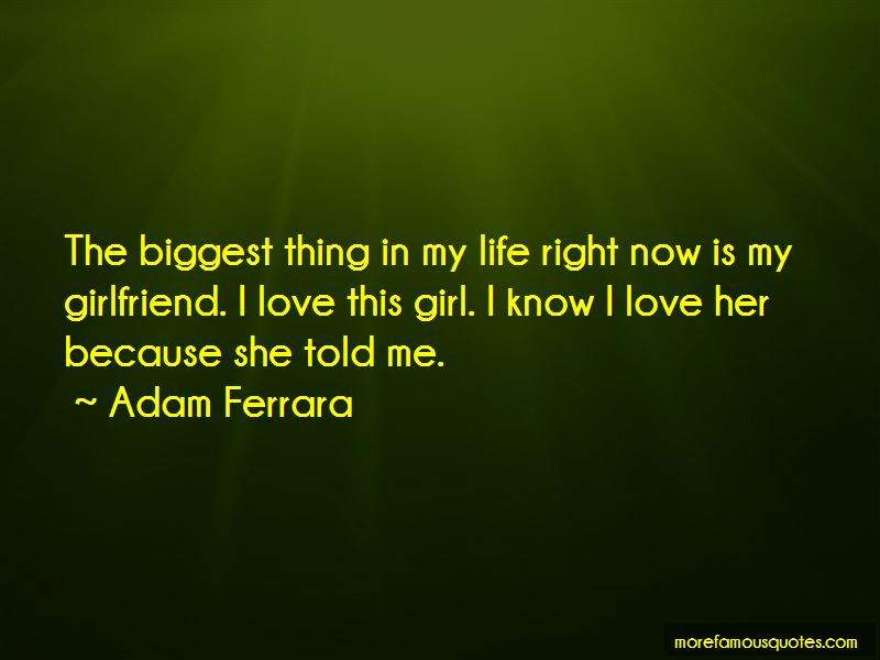 Quotes About Love About Girlfriend