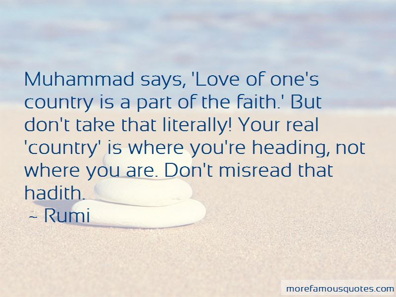 Quotes About Love Hadith
