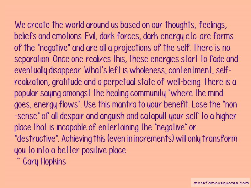 Quotes About Negative Energy And Being Positive Top 60 Negative Best Quotes On Being Positive