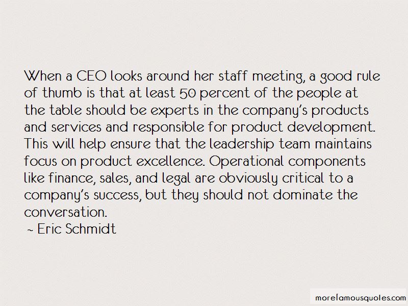 Quotes About Operational Excellence