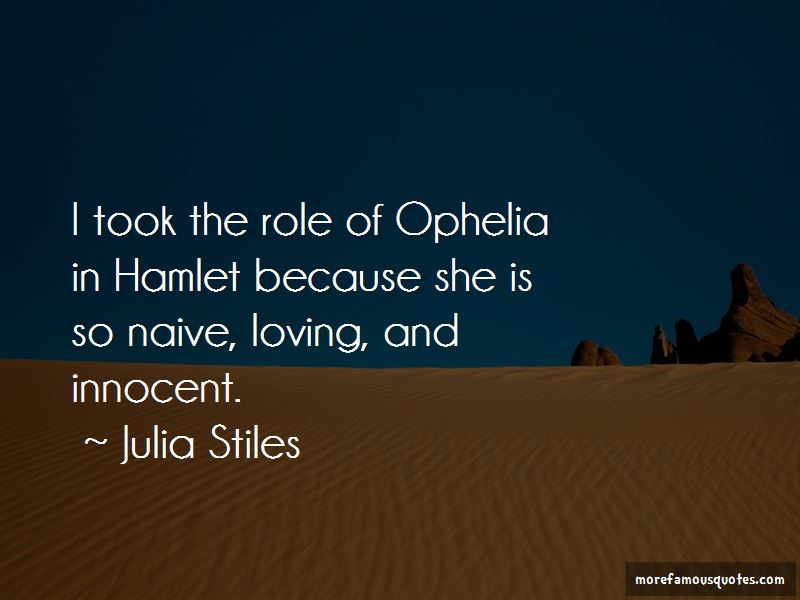 Quotes About Ophelia In Hamlet