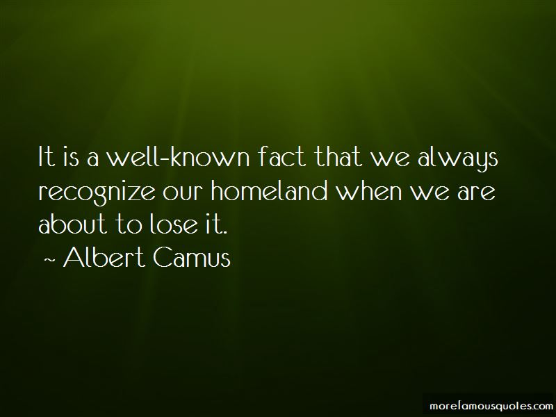 Quotes About Our Homeland